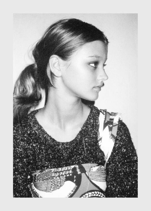 Polaroid No.4 Lexi Graham photographed by Max Doyle for Friend The Magazine #maxdoyle #lexigraham #friend #polaroid #photography #annasantangelo #fashion