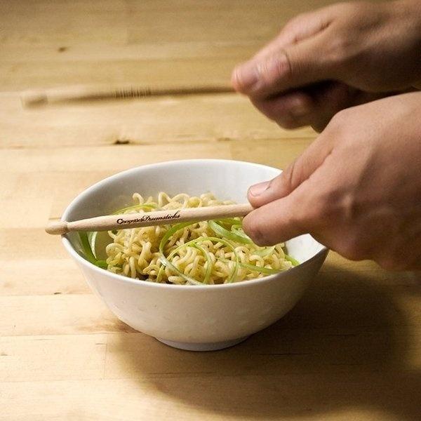 Chopstick Drumsticks #gadget #home