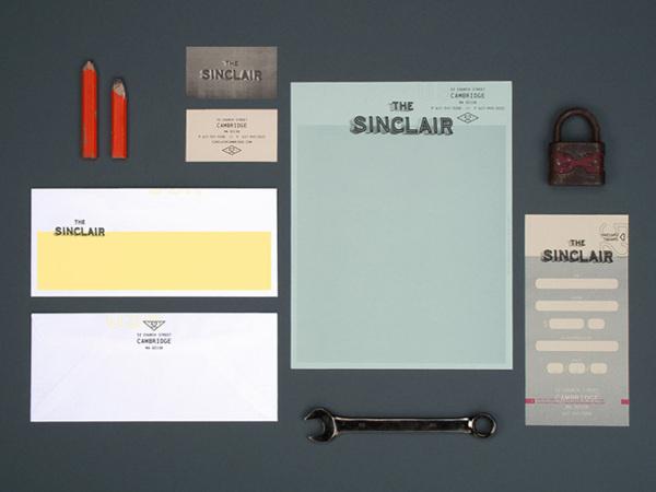 The Sinclair on Behance #menu #identity #food #restaurant