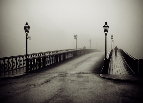 Black and White #white #black #photography #and #bridge