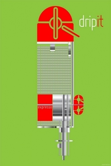 GARDNER KEATON DESIGN STUDIO #machine #design #graphic #illustration #poster #art #coffee