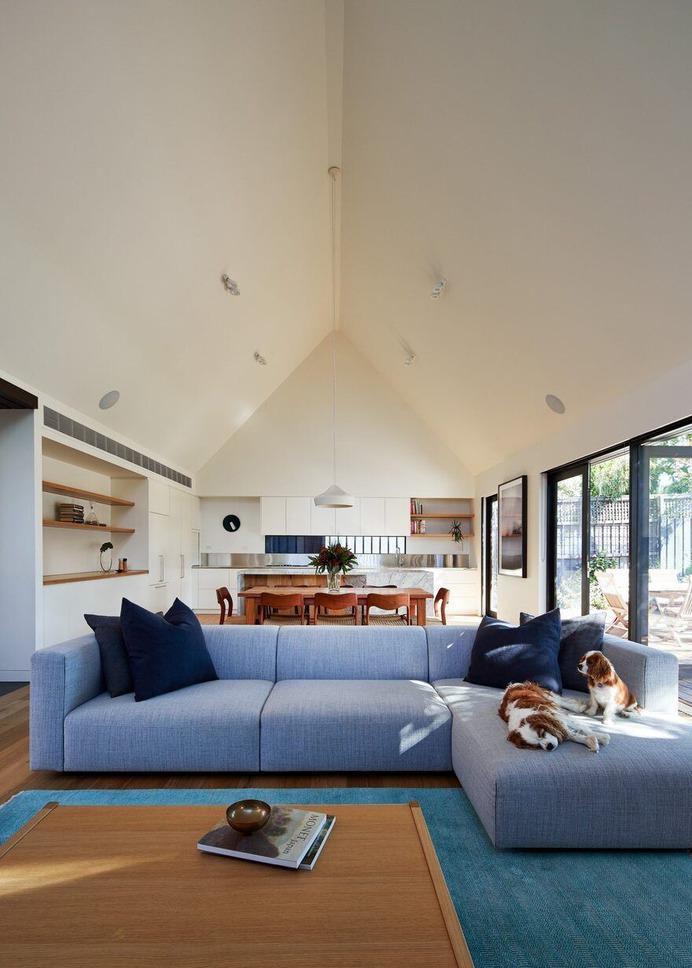 living room, Quinn Architecture