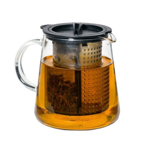 Stop the brewing process without removing the filter or tea leaves. #design #product #modern #lifestyle