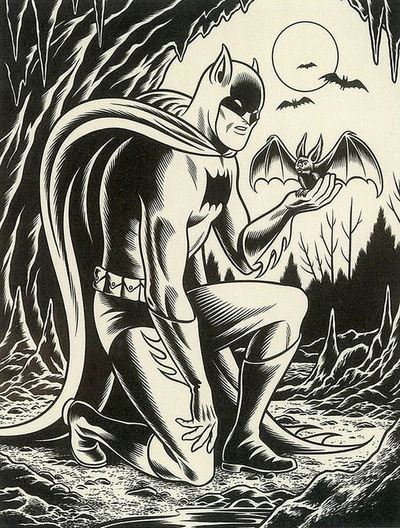 "Poltergeist Î"" #charles #burns #batman"