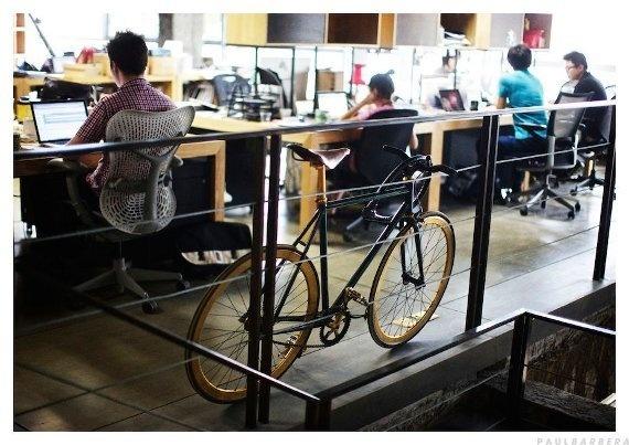 Where They Create by Paul Barbera | W+K Shanghai #where #studio #bike
