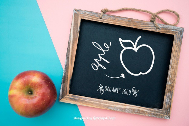 Health mockup with slate and apple Free Psd. See more inspiration related to Mockup, Template, Fitness, Beauty, Spa, Health, Apple, Board, Chalkboard, Mock up, Decoration, Body, Natural, Healthy, Decorative, Relax, Care, Wellness, Up, Health care, Therapy, Hygiene, Calm, Slate, Treatment, Relaxation, Mock and Therapeutic on Freepik.