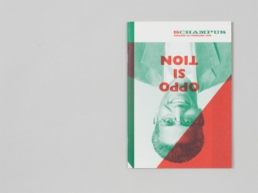 Schampus Magazine – 61 | Alexander Lis #magazine #layout #geometric #typography