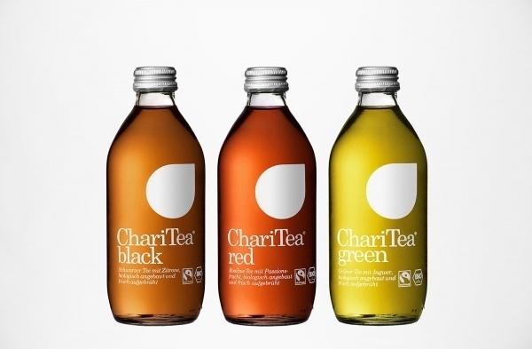 BVD — Lemonaid & Charitea #bottle #packaging #charitea #tea #bvd