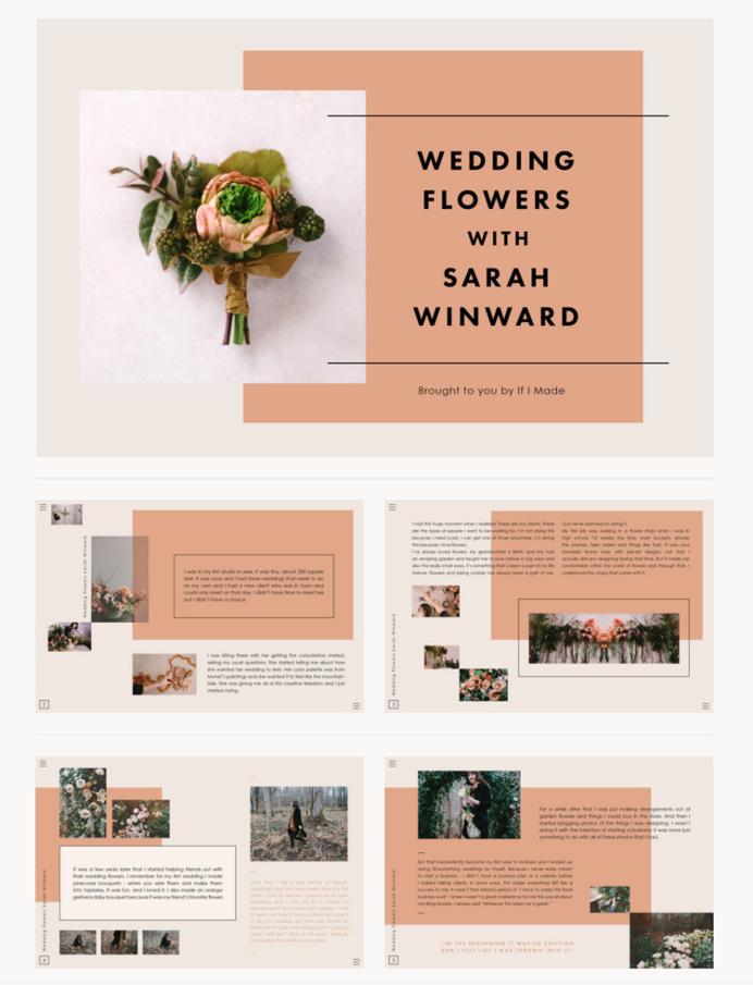 Editorial Layouts | Sallie Harrison Design Studio