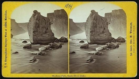 All sizes | Shoshone Falls, Snake River, Idaho. (LOC) | Flickr - Photo Sharing! #photo #idaho #survey #us #geographicall