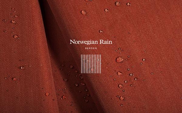 Norwegian Rain on Behance #clothes #stripes #identity #fashion #logo