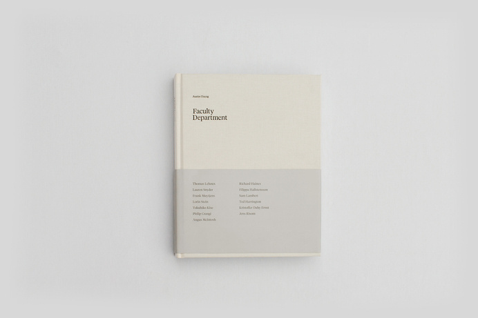 Faculty Department #justin #faculty #chung #facultydept #design #book #cover