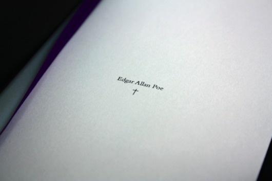 El entierro prematuro #editorial #design #graphic #book