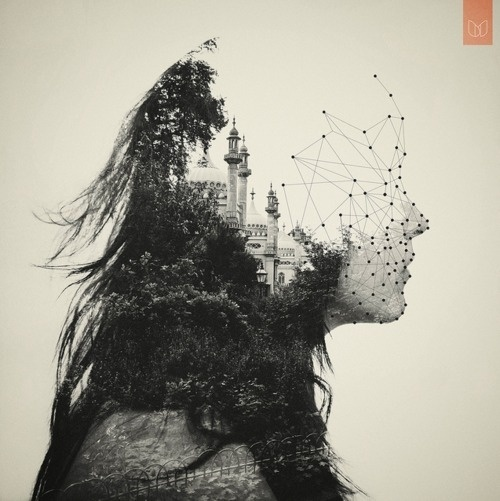 Dan's Double Exposures » Design You Trust #koning #photo #exposure #double #manipulations