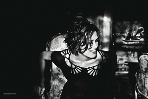 A Minute of Perfection, Keira Knightley x Ellen von Unwerth #photography