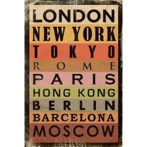 best poster st schwerem metropoles cities images on designspiration. Black Bedroom Furniture Sets. Home Design Ideas