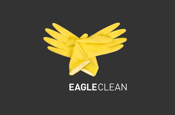 Eagle Clean logo designed by The Partners #logo #design