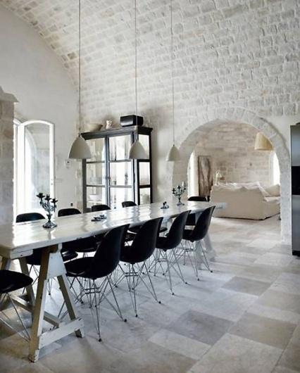 pns3-550x684.jpg 550×684 pixels #interior #stone #dining #modern #design #living #kitchen #room