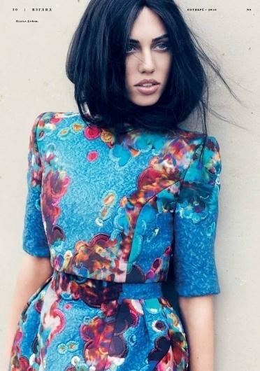 Women's Apparel Ideas #fashion #blue #print #floral