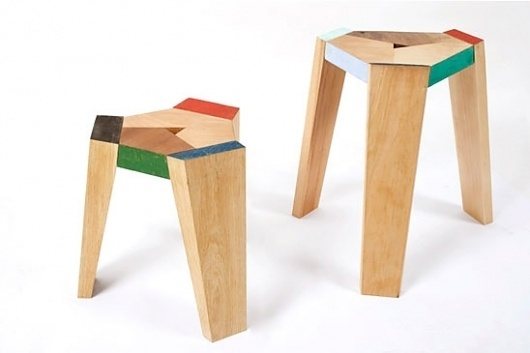 Endy Stool - Studio Ve #wood #seating #stool
