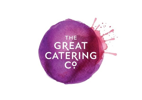 The Great Catering Company by Strategy Design and Advertising #logo #watercolor #identity #branding