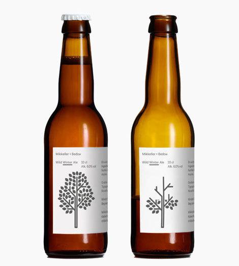 Mikkeller Wild Winter Ale #beer #bottle #label #packaging