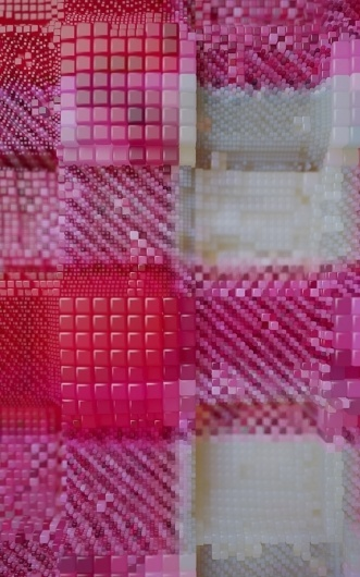 1HexGingham.jpg (JPEG Image, 560×896 pixels) - Scaled (91%) #pattern #design #graphic #exhibition #art #artist