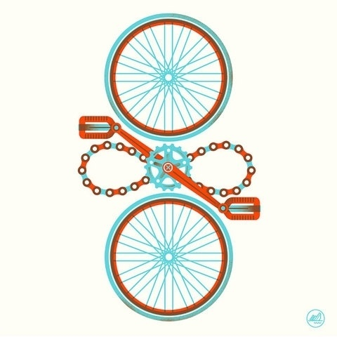 FFFFOUND! | Cycle Cycle | Flickr - Photo Sharing! #illustration