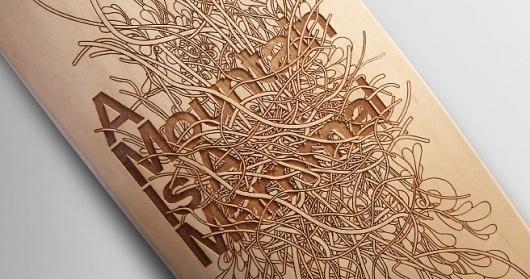 Character Design #design #graphic #wood #illustration #skateboard