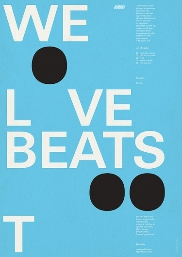 we love beats 2 | Flickr - Fotosharing! #design #we #graphic #poster #too #love #beats #typography