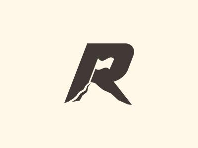 Logo Design: Negative Space #flag #logo