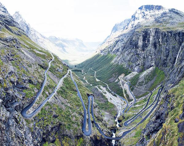Mountain photography, Paul Calver #mountains #road #switchbacks