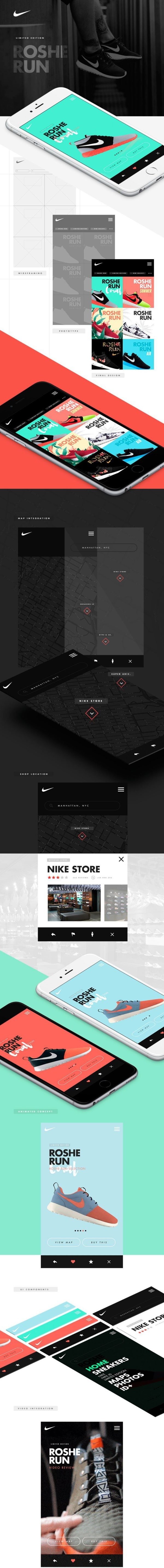 Nike – Roshe Run App by Owi Sixseven
