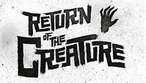 Philip Eggleston: Letterer | Allan Peters' Blog #creature #scary #typography
