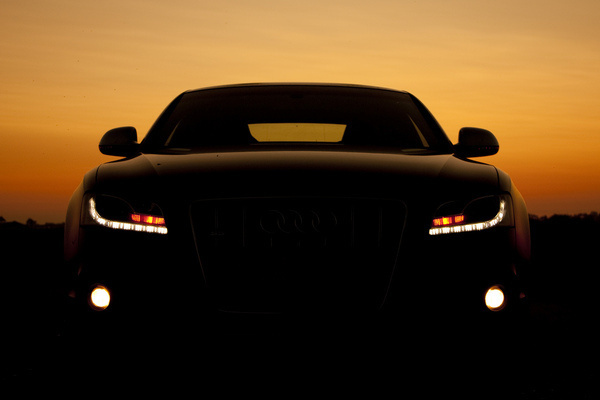 a5 sunset scene #saudi #lights #photography #sunset #car #shadow