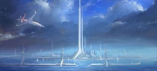 BRINK Official Game Site | Media | Concept Art #arcology #concept #architecture #art