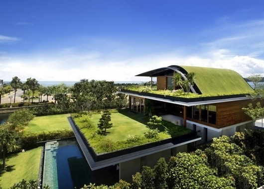 meerahouse1 | Fubiz™ #garden #architecture #house #green