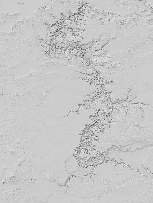 Dan Holdsworth Grand Canyon #sky #photo #grand #air #fractal #snow #canyon