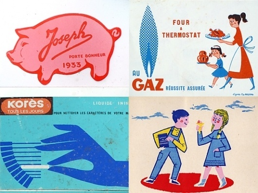 Old things. « Present&Correct #had #retro #pig #illustration #french #logo