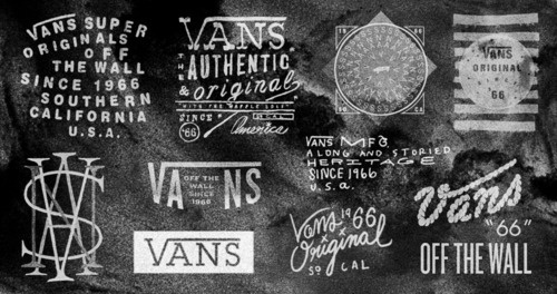 Typeverything.com - Vans logos by Owen Everitt. - Typeverything #type #black #logos #white