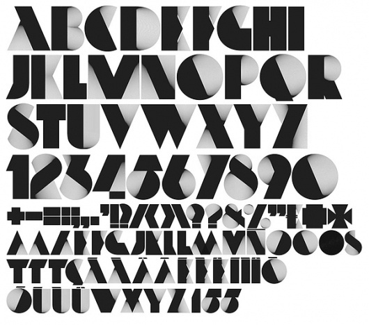 Neo Deco on the Behance Network #design #graphic #alex #trochut #typeface #typography