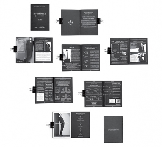 MENS BLACKBOOK on the Behance Network #classey #black #publication #simple #clean #minimal #layout