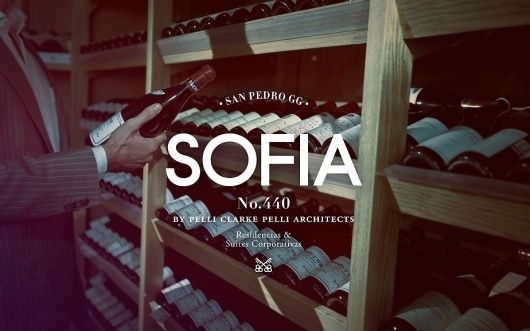Anagrama | Sofia by Pelli Clarke Pelli Architects #photography #identity #branding #typography