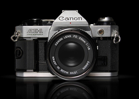 Canon SLR #design #vintage #industrial #retro #photography