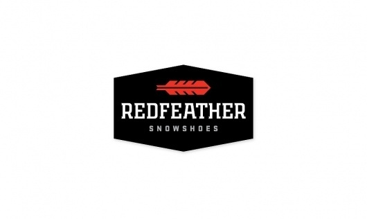 All sizes | Redfeather Snowshoes Primary Identity | Flickr - Photo Sharing! #mark #logo #identity