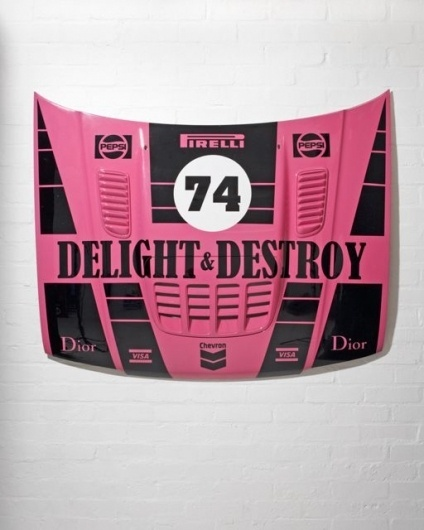 Delight and Destroy at The Gallery in Redchurch Street #design #graphic