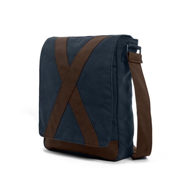 #methone - azul #darkblue #bag #messenger #shoulderbag #plain #caftan #simplicity