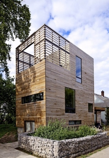 Pictures - Harpoon House - Harpoon House from the street. Photo: Lincoln Barbour - Architizer - Empowering Architecture: architects, buildings, interi