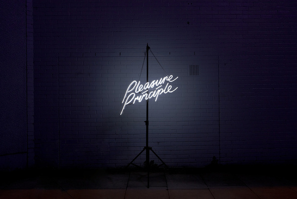 pleasure principle mads perch photography #direction #photography #art #signage #neon