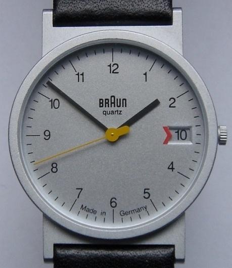 design: the classic Braun watch and similar | Wuff #watch